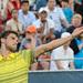 Grigor Dimitrov ball toss