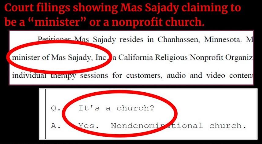 """Minister"" 'Mas Sajady, sex cult leader"