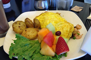 Cliff House - Seafood omelet