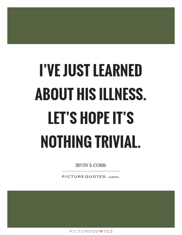 Image result for Irvin Cobb Quotes