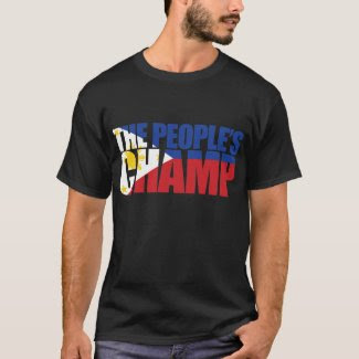 Team Pacquiao Tshirt The People's Champ