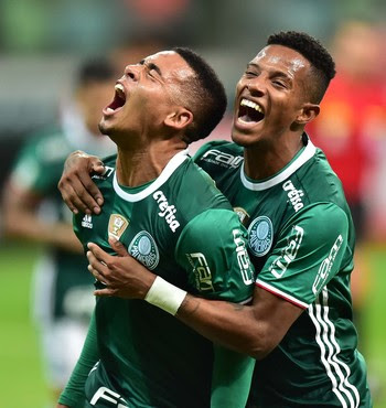 Gabriel Jesus Tche Tche Palmeiras America (Foto: Marcos Ribolli)