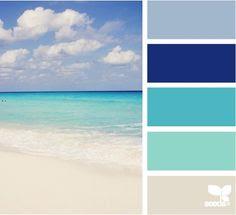Beach Bedroom Project on Pinterest
