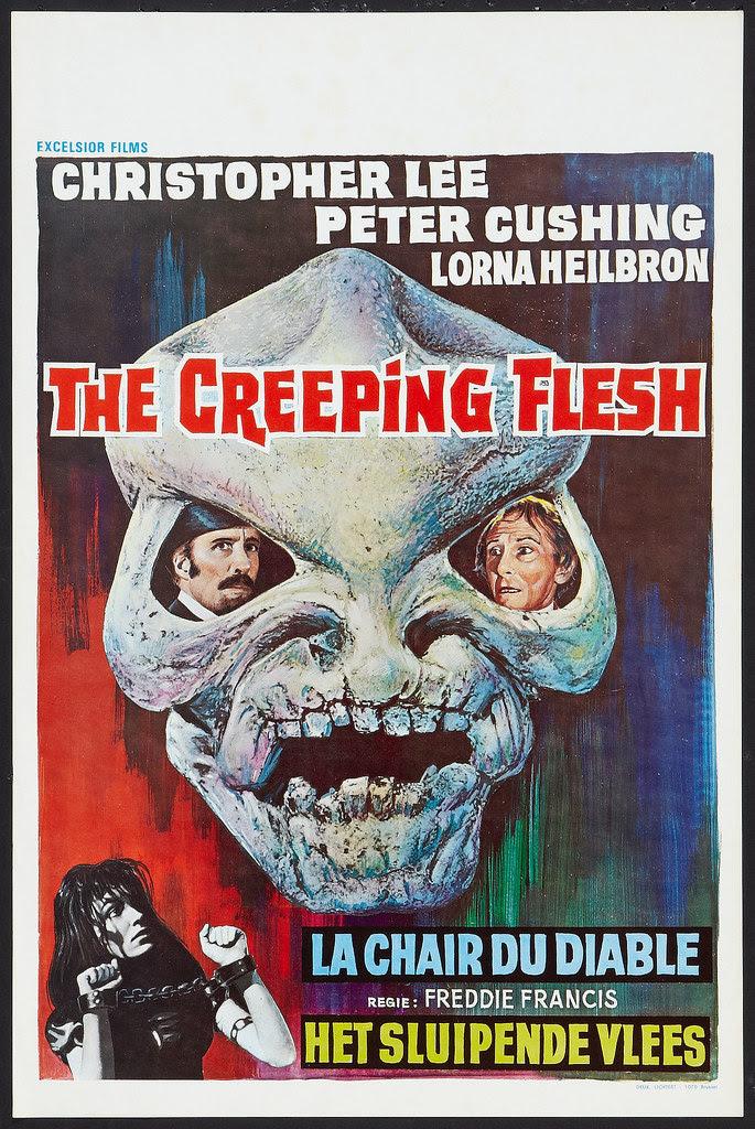 The Creeping Flesh Lot (Columbia, 1972) Belgian Poster