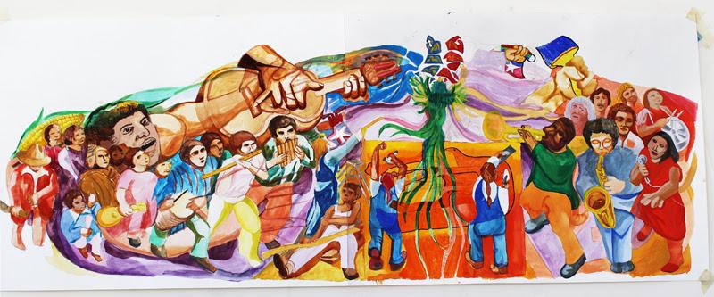 Community Reaches Consensus On La Pena Mural