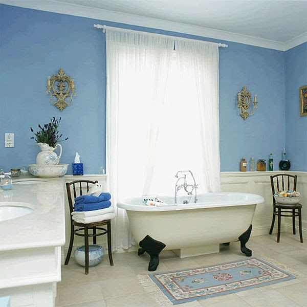 Serene Blue Bathrooms: Ideas & Inspiration