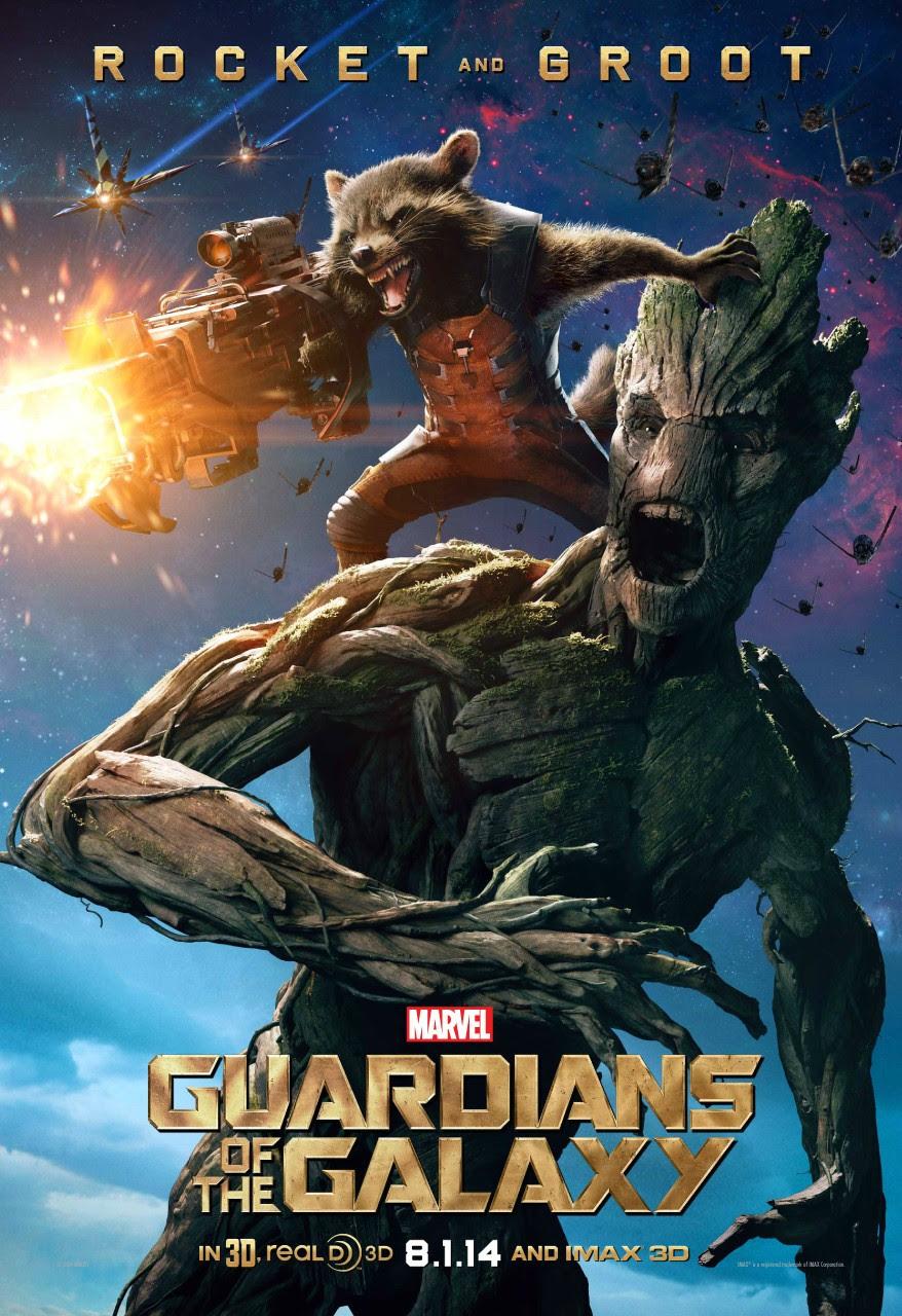 Poster Groot Guardianes de la Galaxia