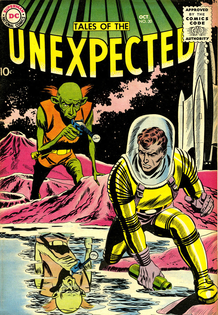 Tales of the Unexpected #30 (DC, 1958) Bob Brown cover