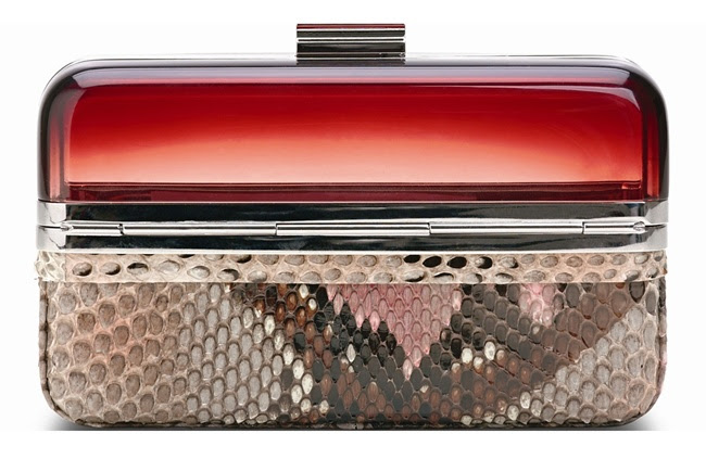 9 Ferragamo Semi-transparent-box-clutch