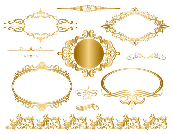 Free Gold Flourish Cliparts Download Free Clip Art Free Clip Art