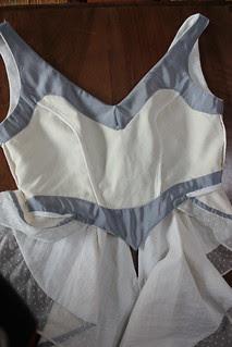 Robe de mariée, modèle Kiki, intérieur