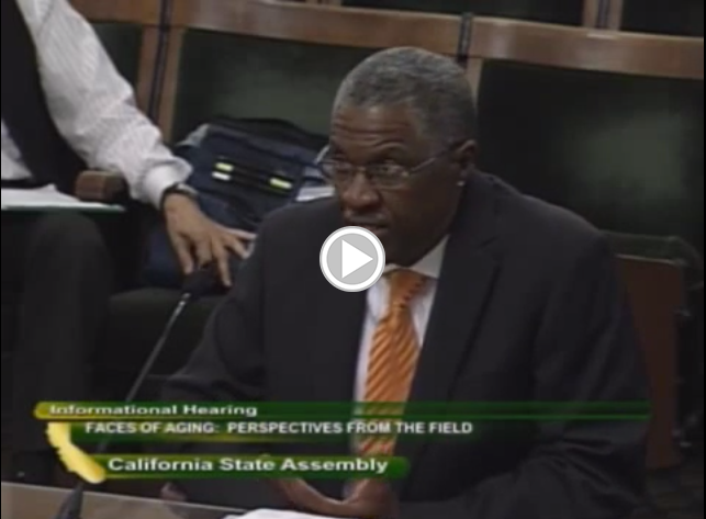 Kevin Chapman testifies before the California Assembly