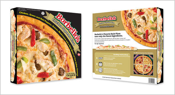 Borbellos Frozen Pizza Packaging Design Ideas 25+ Sour & Spicy Pizza Packaging Design Ideas
