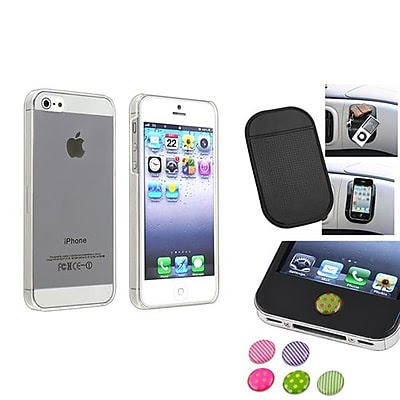 CHEAP Insten 1474566 3-Piece iPhone Case Bundle For Apple iPhone 5/5S, Apple iPhone/iPad/iPod Touch OFFER
