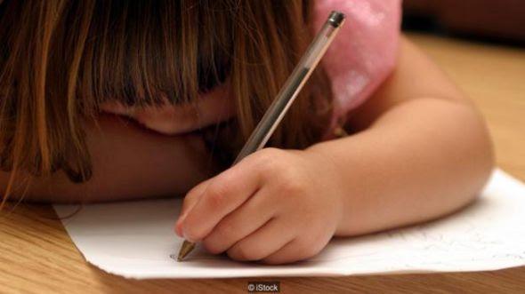 Trẻ con thể hiện rất nhanh chóng là nó thuận tay nào