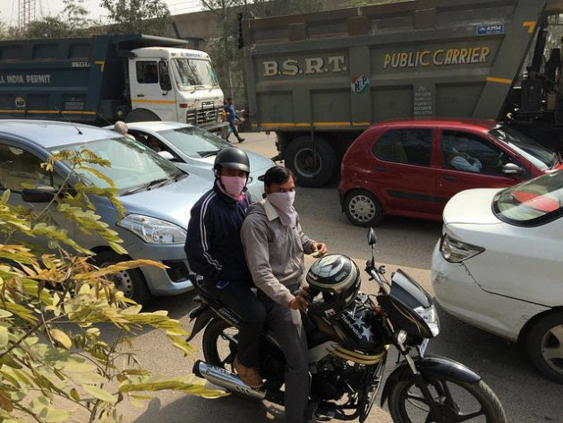 Vehicle ownership in India is projected to hit 400 million by 2040 from the 170 million recorded in 2015, which could prompt a five-fold increase in poisonous gases emitted by cars and trucks. Credit: Neeta Lal/IPS