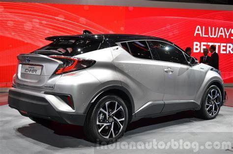 Toyota C HR rear quarter at 2016 Geneva Motor Show   Indian Autos blog