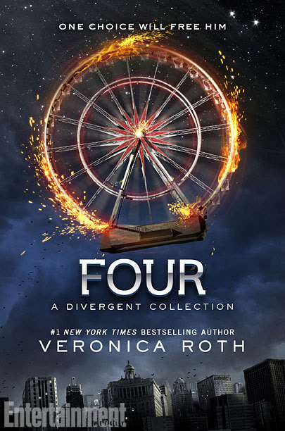 "entertainmentweekly:  Attention, Initiates: Four is a companion volume to the Divergent series. The hardcover includes four pre-Divergent stories told from Tobias's point of view, along with two exclusive scenes, also told from his point of view. Each of the stories will be available separately in electronic format. The first story, ""The Transfer,"" was released last year and the others will be released on July 8—the same day as the hardcover collection. And each story has its own cover. And we've got the full collection at EW.com.  Go see all of the beautiful covers!  (And, if you wanted to pre-order FOUR, you could do that here.)"