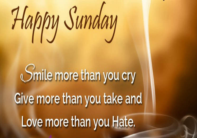 Sunday Wishes Inspirational Quotes Pictures Motivational