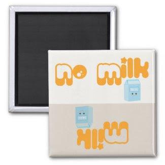 Milk Reminder - Magnet magnet