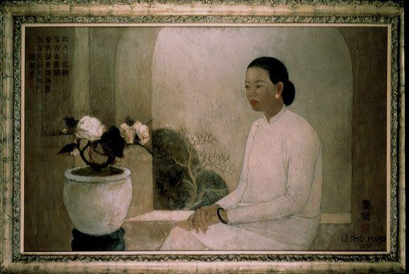 Lê Phô Peintre Et Laqueur Vietnamien Passion Sculpture