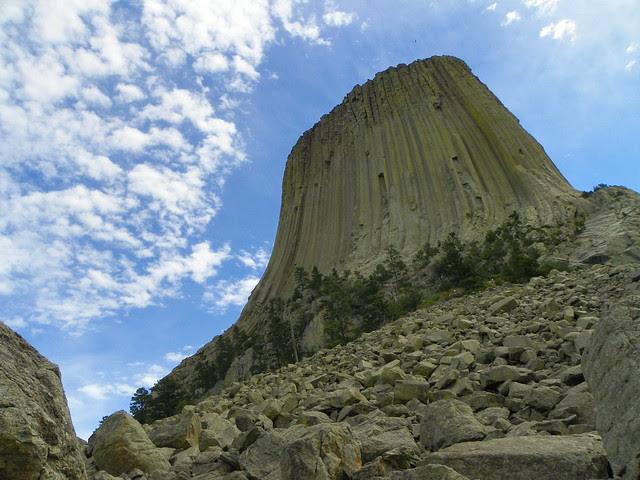 Devils Tower , Wyoming