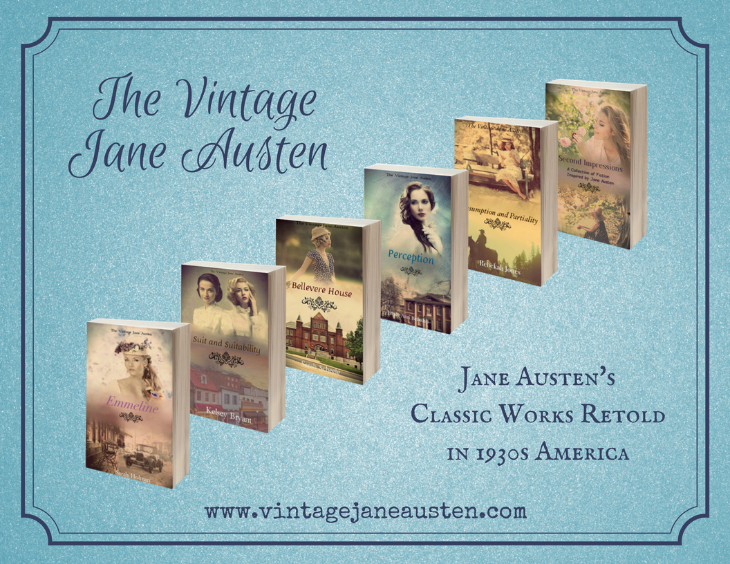 The Vintage Jane Austen book series