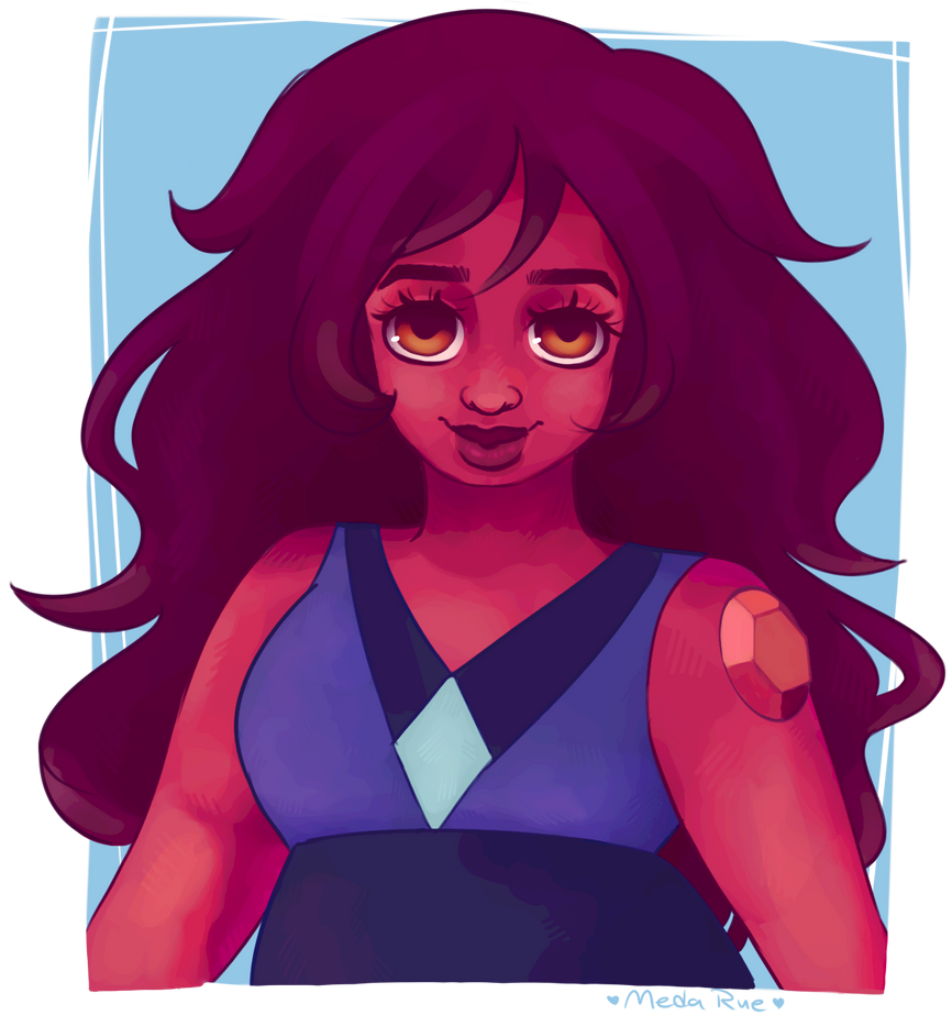 the carnelian from the latest steven universe episode!!! <333 I love her so much she's so cute and short just like amethyst and like me c''': Personal tumblr|Art tumblr|T...