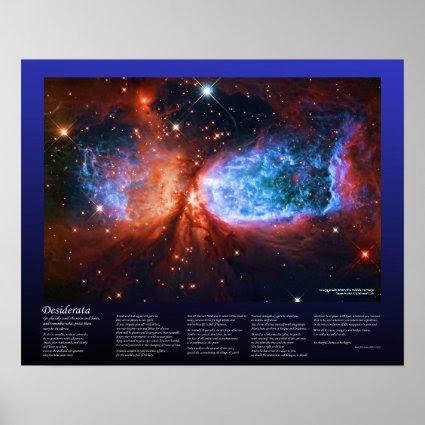 Desiderata - Star Birth in Cygnus, The Swan Posters
