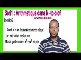 Exercice02 |Exercices corrigés sur Arithmétique dans N -- l'ensemble N --Les ensembles