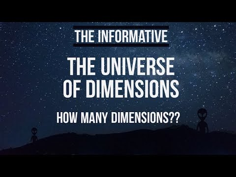 The Universe of Dimensions| How many dimensions are there?