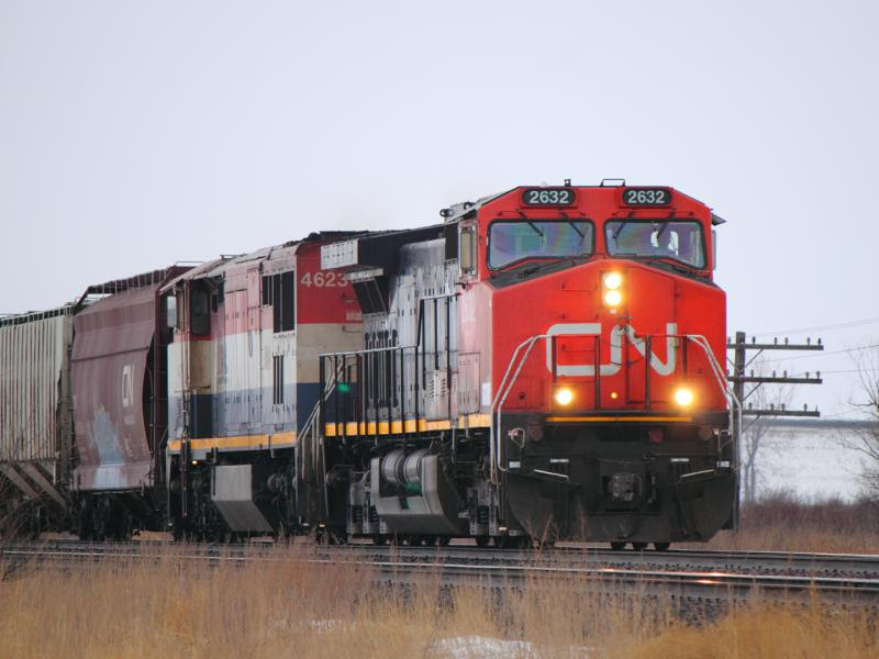 CN 2632 near Winnipeg, MB
