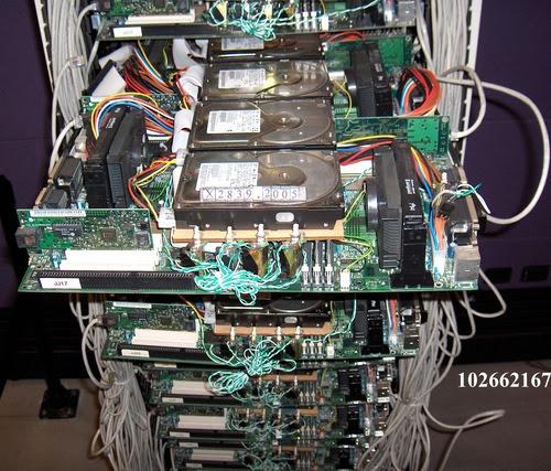 primer servidor google, servidor google