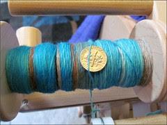 Navajo Turquoise, in progress