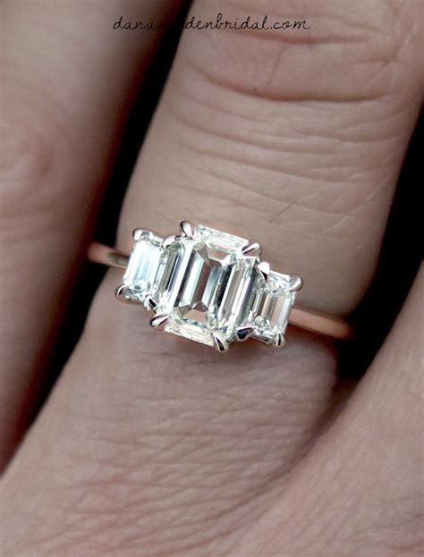 Emma diamond ring   one day   Engagement Rings, Three