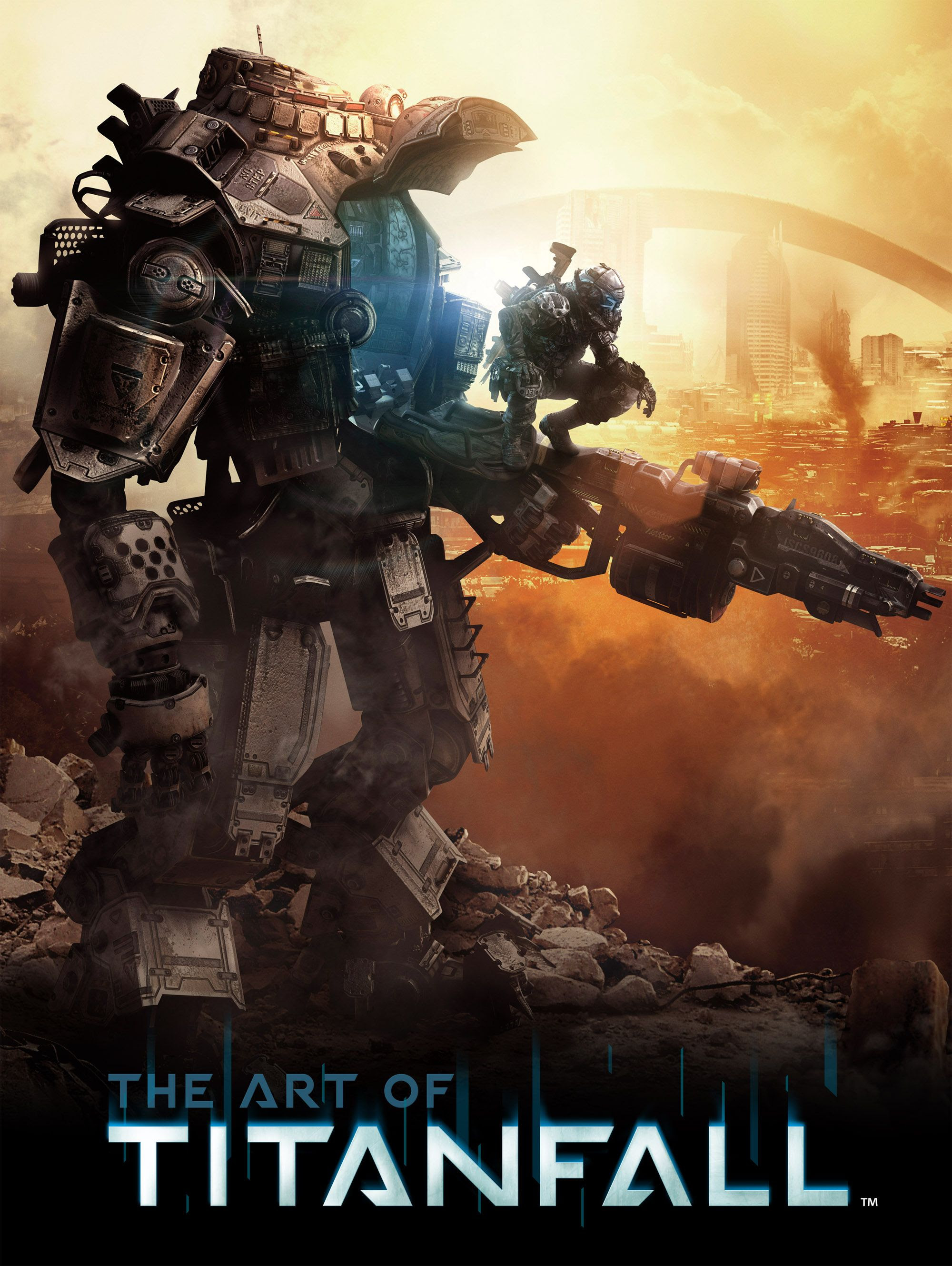 """Exclusive: Beautiful Titanfall Artwork From """"The Art of ..."""