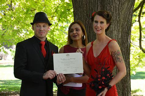 BASIC CEREMONY  MELBOURNE CIVIL MARRIAGE CELEBRANT