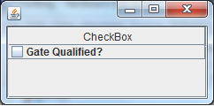 Java - JCheckBox in a JTable cell