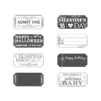 That's The Ticket Clear Stamp Set