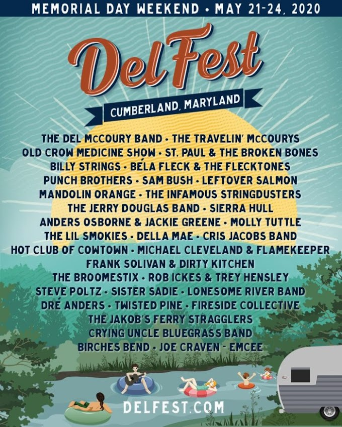 DelFest Announces Additional Artists: Leftover Salmon, The Jerry Douglas Band, Anders Osborne & Jackie Greene, Molly Tuttle and More