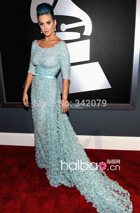 ph08890 Katy Perry dress elie saab Grammy Awards round