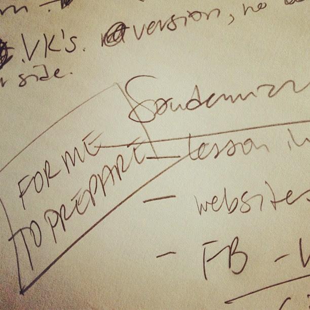handwriting (mine)