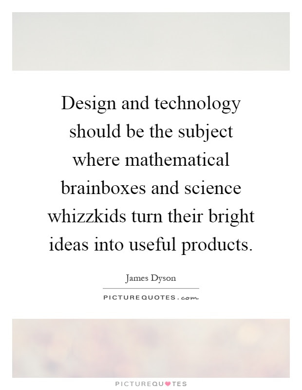 Motivational/inspiration Quotes - Design and Technology ...