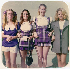 Pep Squad Girls, 1971-72