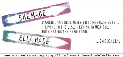 She Made, Ella Hace Banner- allroadsleadtothe.kitchen and lacocinadeleslie.com
