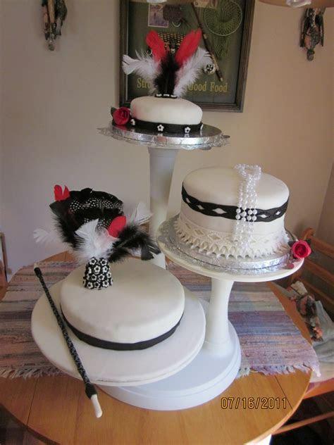 Old Hollywood/flapper Wedding Cake   CakeCentral.com