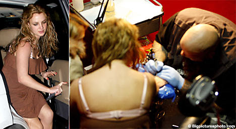 tattoo parlour in Los Angeles for a late-night visit.