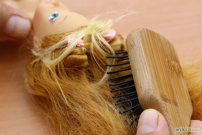 3 Ways to Untangle and Soften Doll Hair - wikiHow