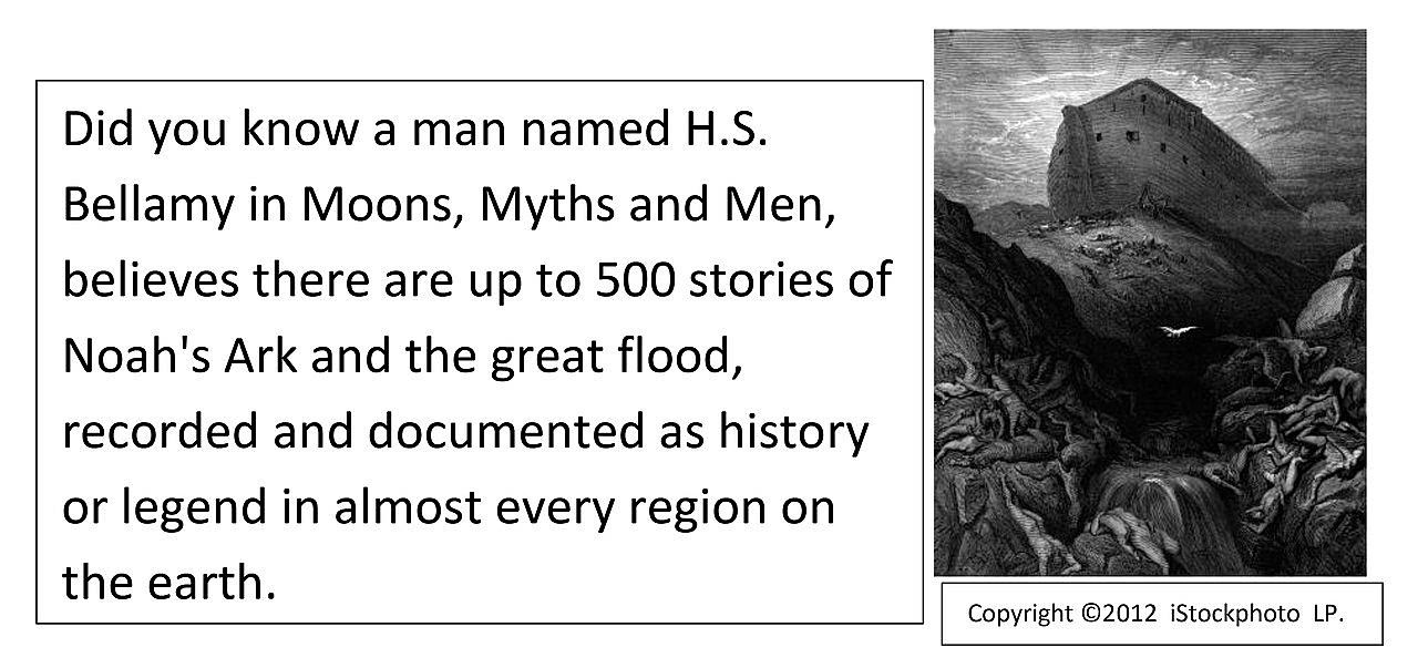 The Flood Tablets. As told in Genesis 6:5 to 8.