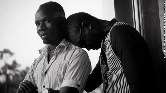 Portaits of gay Ugandan couples